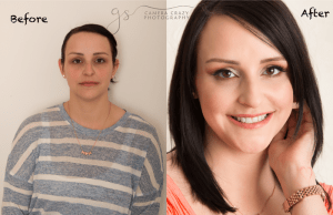 Before and After Portrait Session 2
